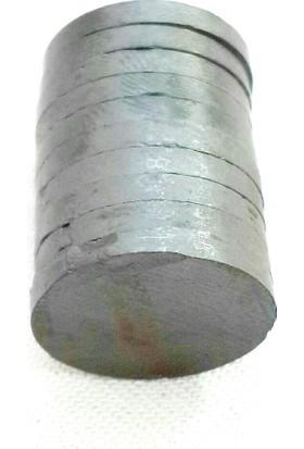 Yuvarlak Mıknatıs - 20 mm - 10 lu Paket