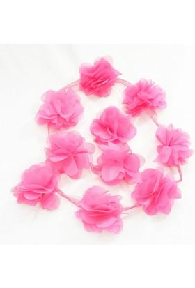 Şifon Çiçek - Fuşya - 10'lu