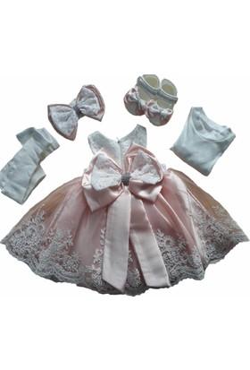 Babylia Bebeğime Cici Kız Bebek Lüks Mevlüt Ve Kına Elbisesi