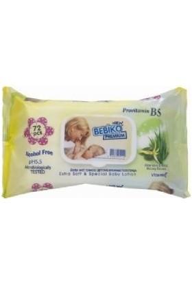 Bebiko Premium Wipe Losyonlu & Kapaklı Islak Mendil