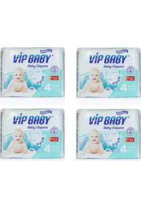 Bebiko Vip Baby Bebek Bezi Active & Soft Maxi 4 Beden 128 Adet