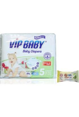 Bebiko Vip Baby Bebek Bezi Active & Soft Junior 5 Beden 28 Adet