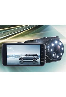 Mastek Park Kameralı Araç İçi Kamera Gece Görüşlü Hareket Sensörlü 1296P Super HD 4 İnç