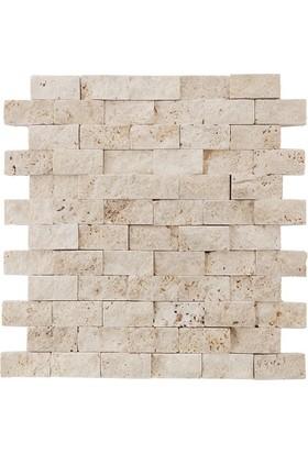 Markataş Doğal Taş Traverten Patlatma Mozaik