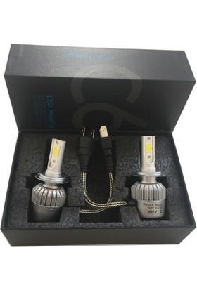 Replax C6 H27 Led Xenon Yeni Teknoloji 4200 Lümen Şimşek Etkili 6000K Beyaz