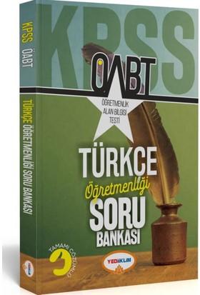 Yediiklim Yayınevi Öabt Türkçe Öğretmenliği Tamamı Çözümlü Soru Bankası