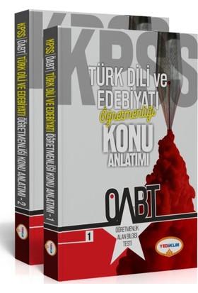 Yediiklim Yayınevi Öabt Türk Dili Ve Edebiyatı Öğretmenliği Konu Anlatımlı (2 Kitap)