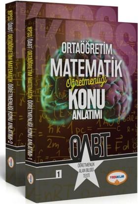 Yediiklim Yayınları Ortaöğretim Matematik Öğretmenliği Konu Anlatımlı
