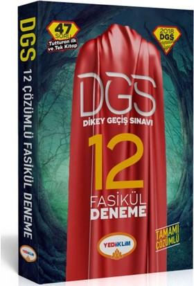 Yediiklim Yayınları 2018 Dgs 12 Li Tamamı Çözümlü Fasikül Deneme