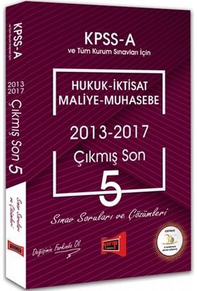 Yargı Yayınları Kpss A Grubu Hukuk - İktisat - Maliye - Muhasebe Çıkmış Son 5 Sınav Soruları Ve Çözümleri