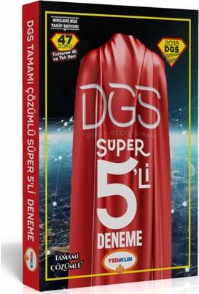 2018 Dgs Süper 5'li Tamamı Çözümlü Deneme