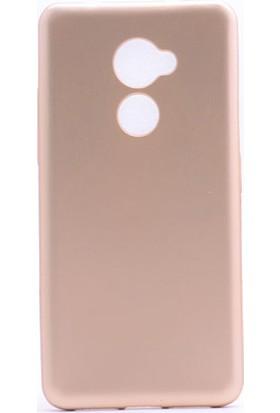 Case 4U Vodafone N8 Kılıf Ultra İnce Mat Silikon Altın