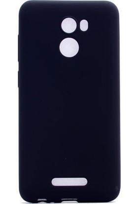 Case 4U Casper P2 Mat Silikon Kılıf Premier Siyah