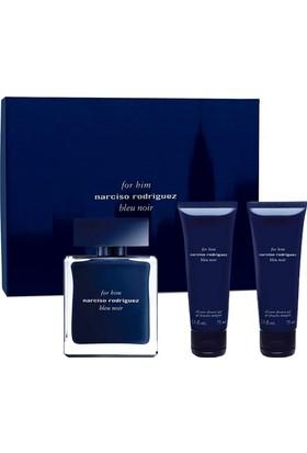 Narciso Rodriguez Bleu Noir Edt 100Ml Erkek Parfüm + 2 Adet 75 Ml Duş Jeli Set