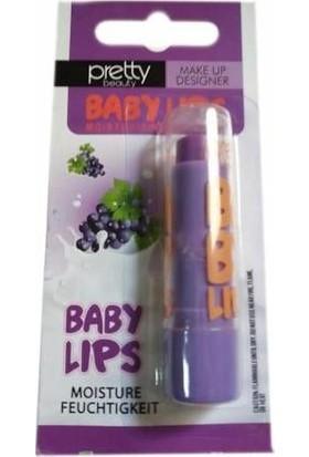 Pretty Beauty Baby Lips Üzümlü Dudak Koruyucu