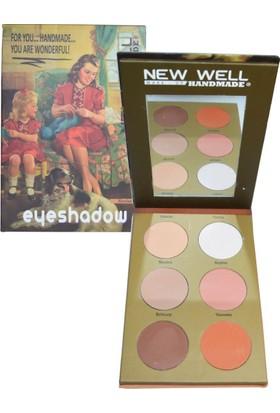 New Well Handmade Serisi Eyeshadow