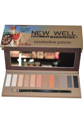 New Well Handmade Serisi Eyeshadow Palette (Maria)