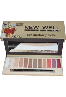 New Well Handmade Serisi Eyeshadow Palette (Gloria)