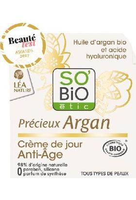 So'Bio Etic Organik Argan Yağı İçerikli Anti Aging Gündüz Kremi 50 ml.
