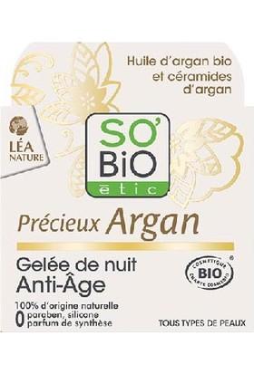 So'Bio Etic Organik Argan Yağı İçerikli Anti Aging Gece Bakım Jeli 40 ml.