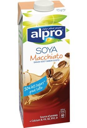 Alpro Vegan Macchiato Kahve Ekstratlı Soya İçeceği 1 lt