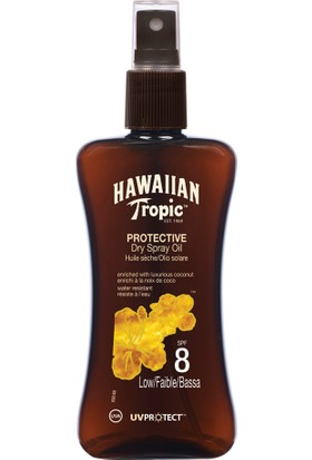 Hawaiian Tropic Yağ Spray Spf8 200Ml