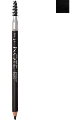 Note Eyebrow Kaş Kalemi 01 Black