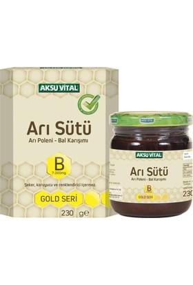 Aksuvital Arı Sütü Bal Polen (B7.000 Mg)