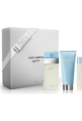 Dolce Gabbana Light Blue Kadın Edt 100Ml Set