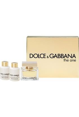 Dolce Gabbana The One Kadın Edp 75Ml Set