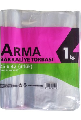 Arma Naylon Torba PE 1 kg'lık Paket