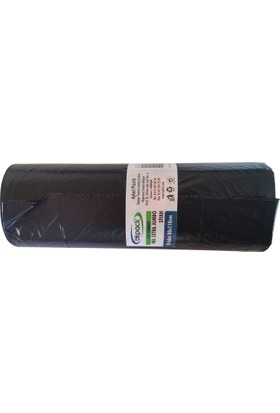 Birpack Endüstiriyel Çöp Torbası 80 x 110 Jumbo 10'lu Rulo 500 g