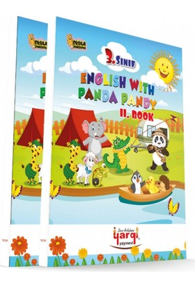 Yargı Ders Arkadaşım 3. Sınıf English With Panda Pandy 2 Kitap Cd'Li