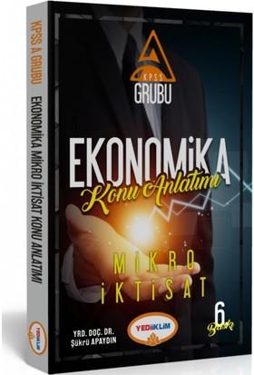 Yediiklim Yayınları Kpss-A Ekonomika Mikro İktisat Konu Anlatımı