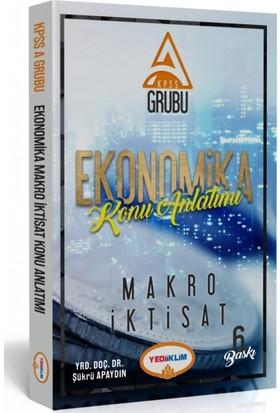Yediiklim Yayınları Kpss-A Ekonomika Makro İktisat Konu Anlatımı
