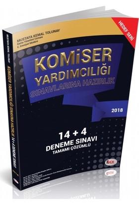 Hür Yayınları Komiser Yardımcılığı Sınavlarına Hazırlık 14+4 Deneme Sınavı