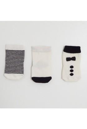 İdil Baby 9928 3'lü Bebek Çorabı