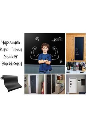 PeakBays Yapışkanlı Kara Tahta-Yazı Tahtası: Sticker Blackboard
