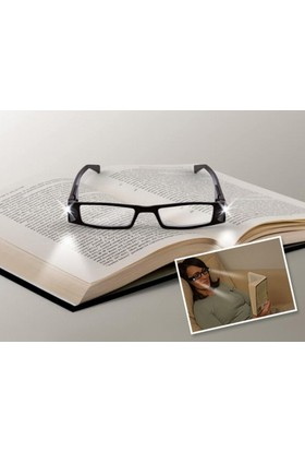 PeakBays Led Işıklı Kitap Okuma Gözlüğü