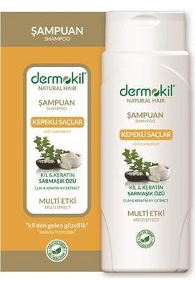 Dermokil Natural Kepekli Saçlar İçin Sarmaşık Özlü Şampuan 400Ml