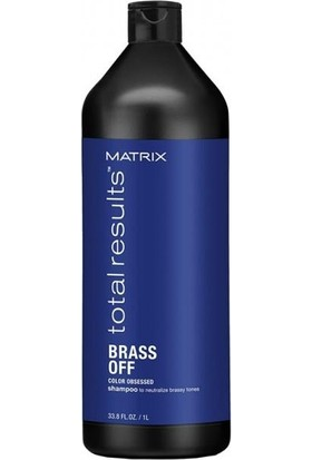 Matrix Total Results Brass Off Mor Silver Şampuan 1000 Ml