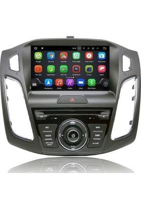 Ford Focus 4 Android 7 Multimedya Navigasyon Dvd Kamera Hediyelı