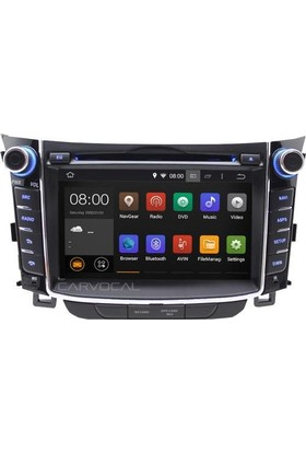 Hyundai i30 Android 7.1 Multimedya Navigasyon Usb Dvd Kamera
