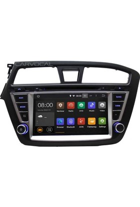 Hyundai New İ20 Android 7.1 Multimedya Navigasyon Usb Dvd Kamera
