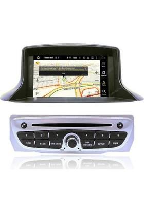 Renault Fluence Android 6.0 Multimedya Navigasyon Sistemi