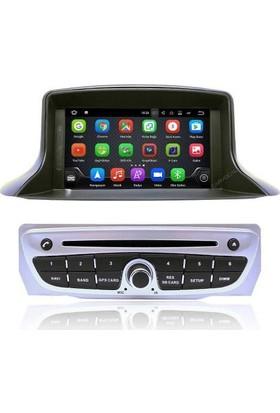 Renault Fluence Android 7 NOUGAT Multimedya IPS Ekran