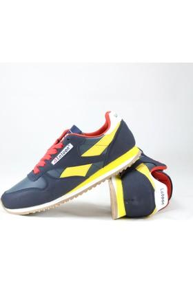 Letoon 3017 Erkek Spor Ayakkabı Sarı Lacivert