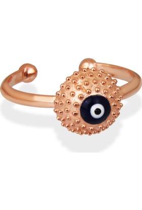 Argentum Concept Nazarlı Rose Gümüş Yüzük Y006001