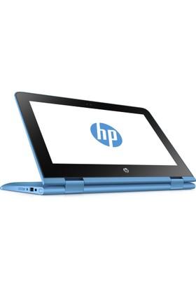 "HP Pavilion x360 11-AB003NT Intel Pentium N3710 4GB 128GB SSD Windows 10 Home 11.6"" Taşınabilir Bilgisayar 2EP19EA"