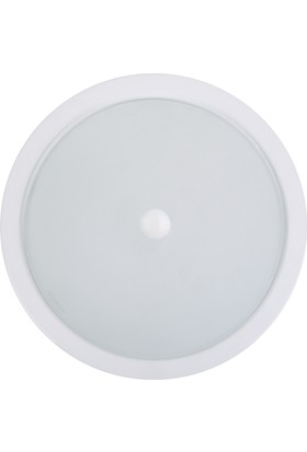 Nilson Libra 12W Ledlı Kapalı Armatür Beyaz 6500K